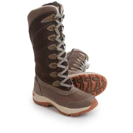 Kodiak Rebecca Snow Boots - Waterproof, Insulated (For Women) in Brown - Closeouts