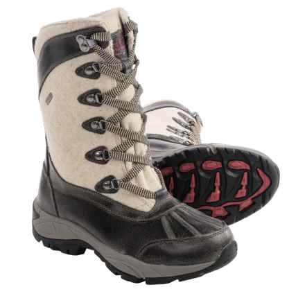 Kodiak Reegan Snow Boots - Waterproof, Insulated (For Women) in Taupe - Closeouts