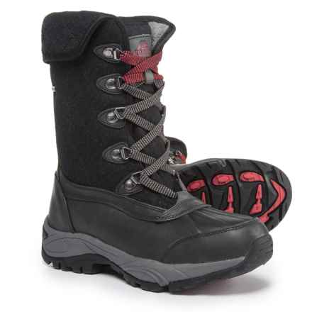 Kodiak Reilly Mid Snow Boots - Waterproof, Insulated (For Women) in Black - Closeouts