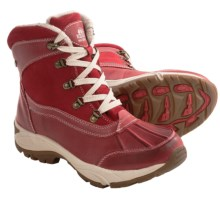 Kodiak Renee Snow Boots - Waterproof, Insulated (For Women) in Red - Closeouts