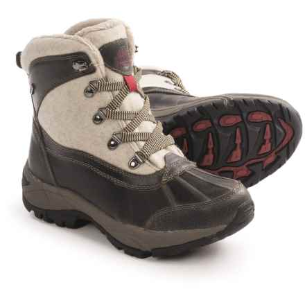 Kodiak Rochelle Snow Boots - Waterproof, Insulated (For Women) in Taupe - Closeouts