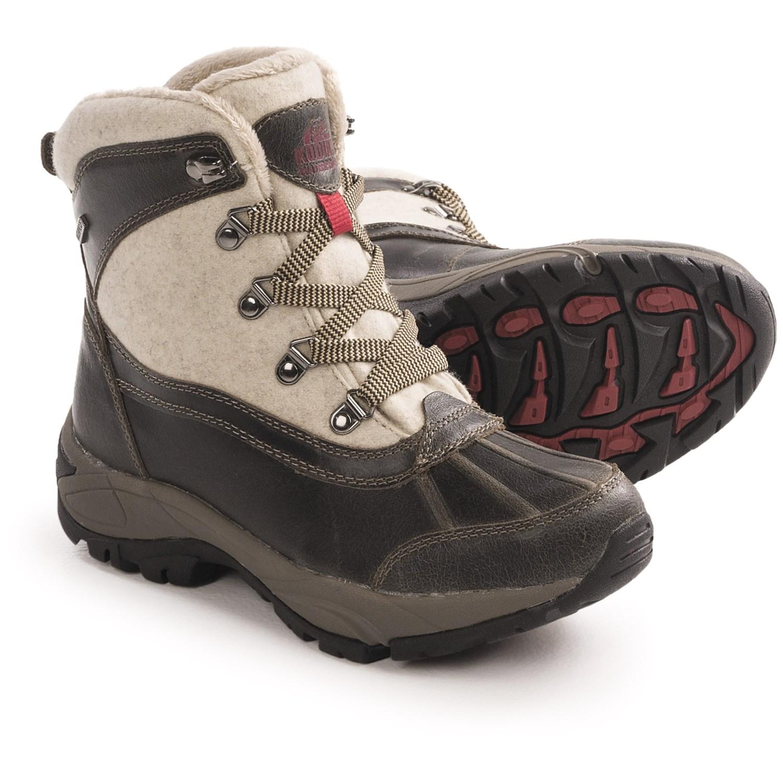 Elegant Kodiak | Acadia Boot In Caramel | Getoutsideshoes.com