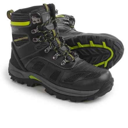 Kodiak Vista Snow Boots - Waterproof, Insulated (For Men) in Black/Lime - Closeouts