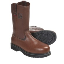 Kodiak Wellington Work Boots - Leather, Steel Toe (For Men) in Dark Brown - Closeouts