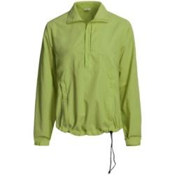 Kokatat Destination Paddling Shirt - UPF 40+, Zip Neck, Long Sleeve (For Women) in Green