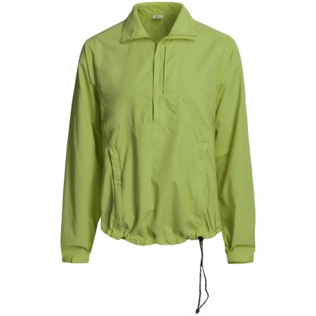 Kokatat Destination Paddling Shirt - UPF 40+, Zip Neck, Long Sleeve (For Women) in Green