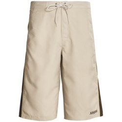 Kokatat Destination Paddling Trunks - UPF 40+ (For Men) in Shale/Dark Brown