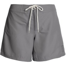Kokatat Destination Surf Trunks - UPF 40+ ( For Women) in Grey - Closeouts