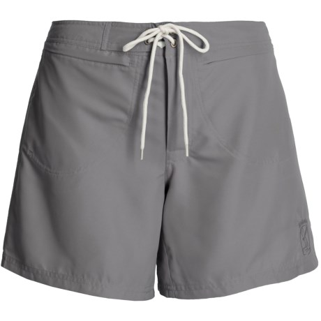 Kokatat Destination Surf Trunks - UPF 40+ ( For Women) in Grey