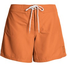 Kokatat Destination Surf Trunks - UPF 40+ (For Women) in Pumpkin - Closeouts