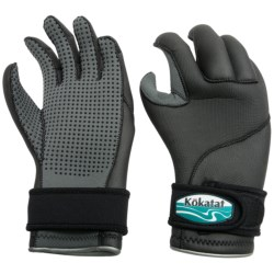 Kokatat Heavyweight Neoprene Paddling Gloves - 3mm (For Men and Women) in Black