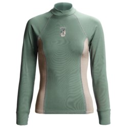 Kokatat Innercore Rash Guard - Long Sleeve, UPF 30+ (For Women) in Straw/Shale
