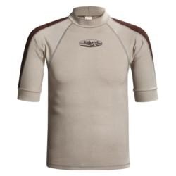 Kokatat Innercore Rash Guard - Short Sleeve, UPF 30+ (For Men) in Straw