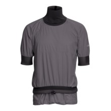 Kokatat Knappster Gore-Tex® PacLite® Splash Top - Waterproof, Short Sleeve (For Men) in Graphite - Closeouts