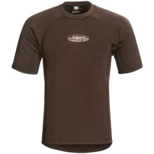 Kokatat Outercore Base Layer Top - Short Sleeve (For Men) in Dark Brown - Closeouts