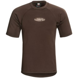 Kokatat Outercore Base Layer Top - Short Sleeve (For Men) in Dark Brown