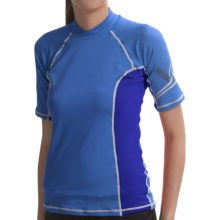 Kokatat SunCore Rash Guard - UPF 30+, Short Sleeve (For Women) in Sky/Azul - Closeouts
