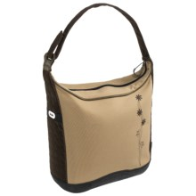 Koki Bagaboo Canvas Cycling Pannier Bag in Canvas Embroiderd - Closeouts