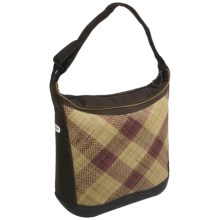Koki Bagaboo Pandan Cycling Pannier Bag in Mocha/Pandan Weave - Closeouts