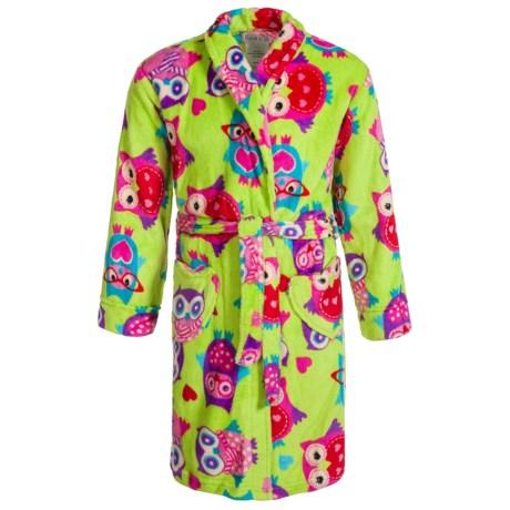 Komar Kids Owl Robe - Long Sleeve (For Kids)