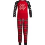 Komar Kids Snowflake Pajamas - Long Sleeve (For Kids)
