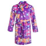Komar Kids Winter Pup Robe - Long Sleeve (For Girls)