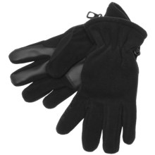 Kombi Basic Fleece Gloves (For Men) in Black - Closeouts
