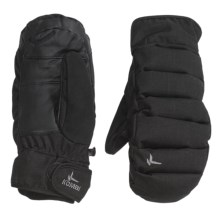Kombi Chrysalis Mittens - Insulated (For Men) in Black Haze - Closeouts