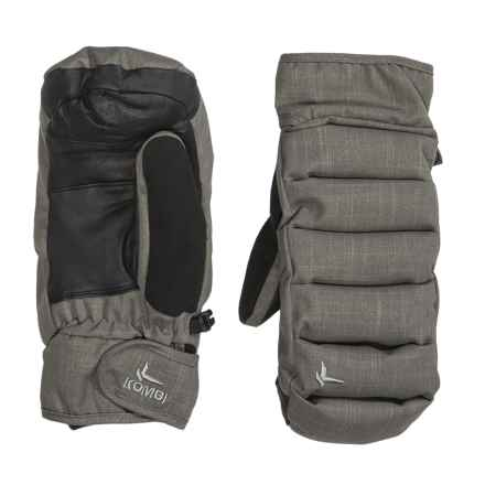 Kombi Chrysalis Mittens - Insulated (For Men) in Grey Haze - Closeouts
