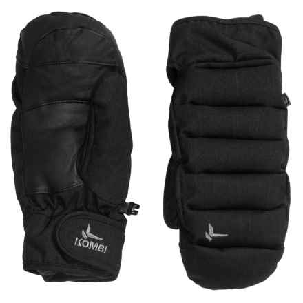 Kombi Chrysalis Mittens - Insulated (For Women) in Black Haze - Closeouts