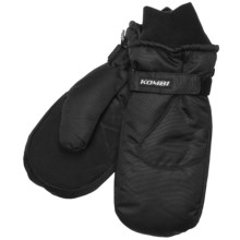 Kombi Cruiser Mittens - Waterproof, Insulated (For Men) in Black - Closeouts
