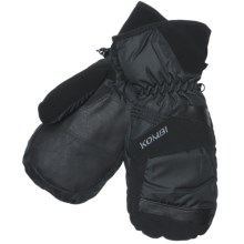 Kombi Ebb Mittens - Waterproof, Insulated (For Men) in Black - Closeouts