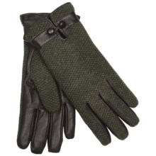 Kombi Eliza Gloves - Insulated, Wool Blend (For Women) in Walnut Moss - Closeouts