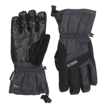 Kombi Exodus Gore-Tex® PrimaLoft® Gloves - Waterproof, Insulated (For Men) in Black - Closeouts