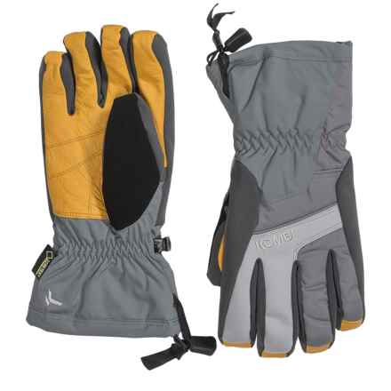 Kombi Exodus Gore-Tex® PrimaLoft® Gloves - Waterproof, Insulated (For Men) in Gunmetal/Wheat - Closeouts