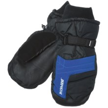 Kombi Flow Mittens - Waterproof, Insulated (For Men) in Black Blue - Closeouts