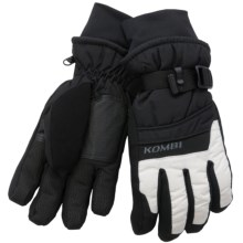 Kombi Gore-Tex® Method Gloves - Waterproof (For Women) in Black/White - Closeouts