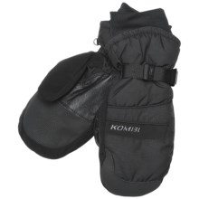 Kombi Gore-Tex® Method Mittens - Waterproof, Insulated (For Men) in Black - Closeouts