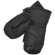 Kombi Mission Mittens - Waterproof, Insulated (For Men) in Black - Closeouts