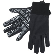 Kombi Power Stretch Liner Gloves (For Men) in Black - Closeouts
