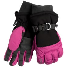 Kombi Storm Cuff Gloves - Waterproof, Insulated (For Women) in Black/Pink - Closeouts