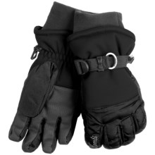 Kombi Storm Cuff Gloves - Waterproof, Insulated (For Women) in Black - Closeouts