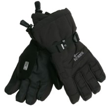 Kombi Storm Cuff II Gloves - Waterproof, Insulated (For Women) in Black - Closeouts