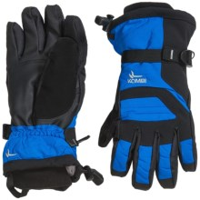 Kombi Storm Cuff III Gloves - Waterproof, Insulated, Touchscreen Compatible (For Men) in Directoire Blue Black - Closeouts