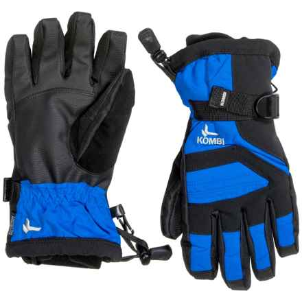 Kombi Storm Cuff III Gloves - Waterproof, Insulated, Touchscreen Compatible (For Women) in Directoire Blue Black - Closeouts