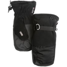 Kombi Storm Cuff Mittens - Waterproof, Insulated (For Men) in Black - Closeouts