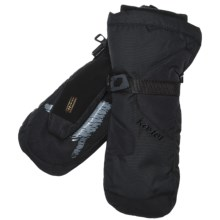 Kombi Waterguard® Gauntlet Mittens - Waterproof, Insulated (For Men) in Black - Closeouts