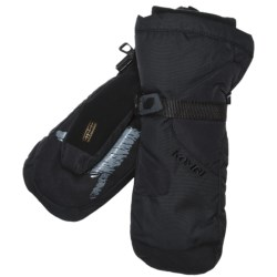 Kombi Waterguard® Gauntlet Mittens - Waterproof, Insulated (For Men) in Black
