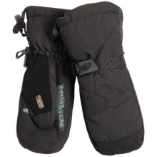 Kombi Waterguard® Mittens - Waterproof, Windproof, Insulated (For Women) in Black - Closeouts