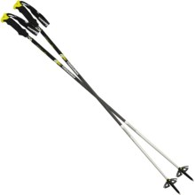 Komperdell 2012 Carbon Freeride Alpine Ski Poles in See Photo - Closeouts